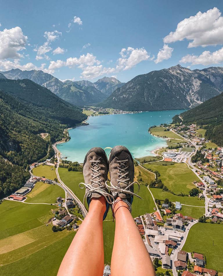 Paragliding Achensee Ausblick