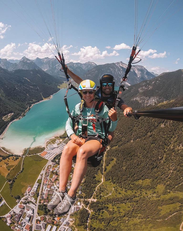 Paragliging Achensee Österreich