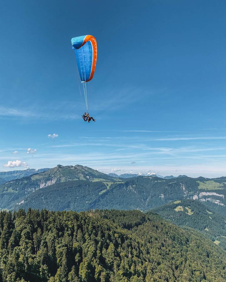 Paragliding Flugschule Bregenzerwald Bregenzerwald