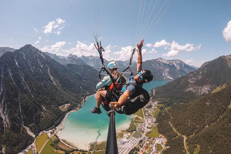 Paragliding Achensee Tirol
