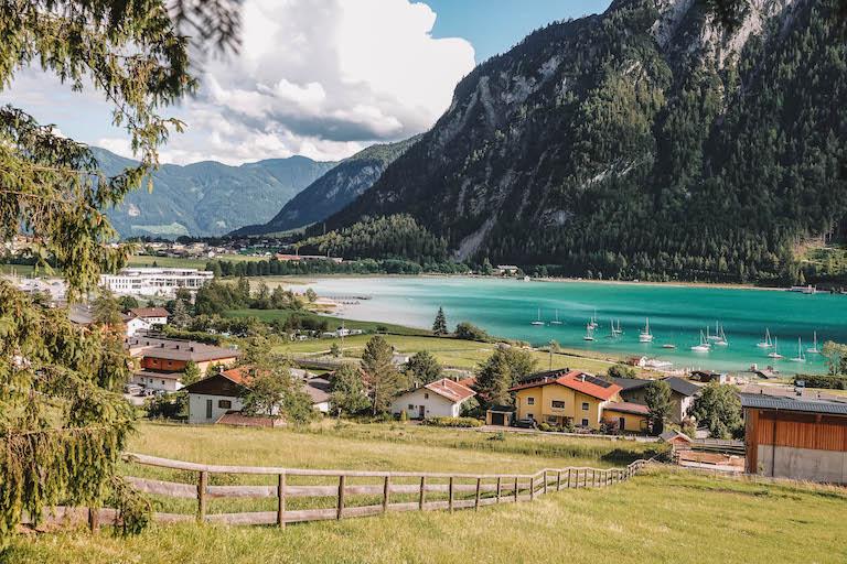 Wanderung Dalfazer Wasserfall Achensee