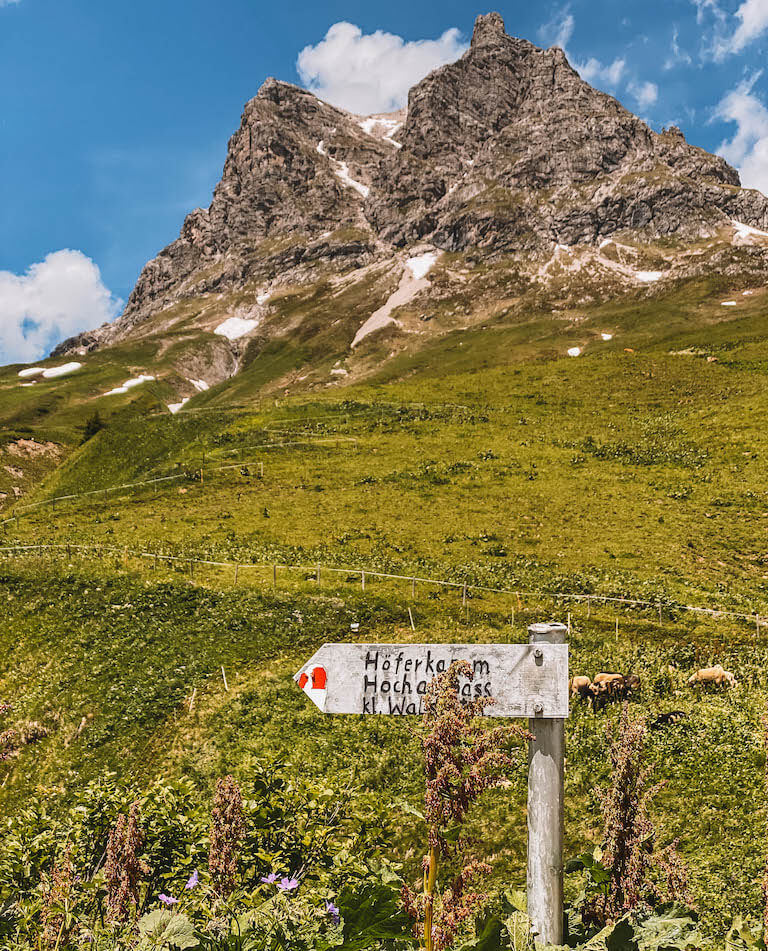 Wanderung Warth Vorarlberg