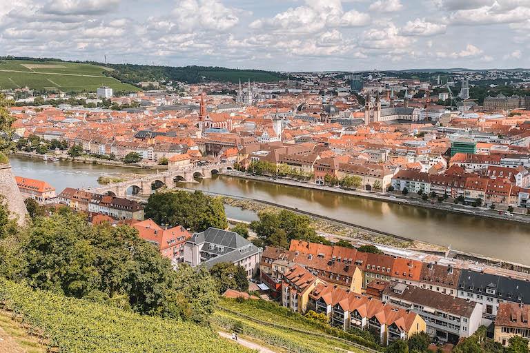 Aussicht Festung Marienberg