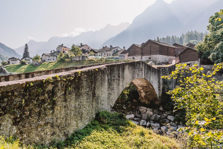 Bergell-Schweiz-Borgonovo-Graubuenden