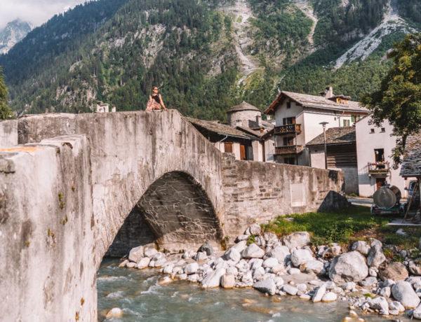 Bergell Vicosoprano Schweiz Graubuenden 2