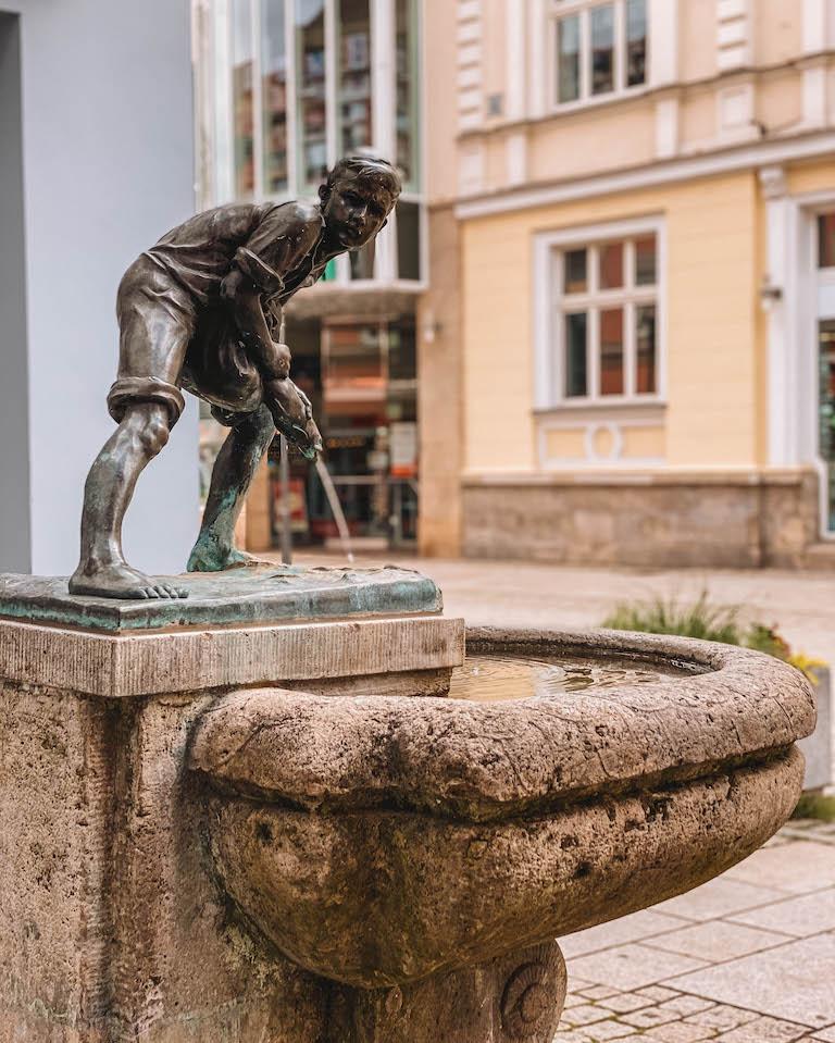 Brunnen Meiningen