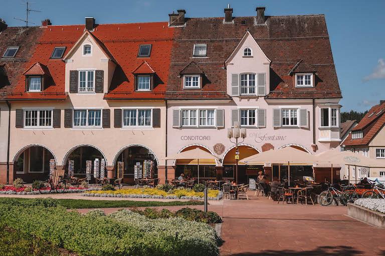 Cafe Fontaine Freudenstadt