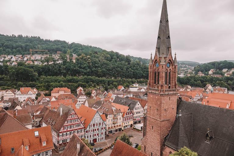 Calw Aussicht Stadtturm