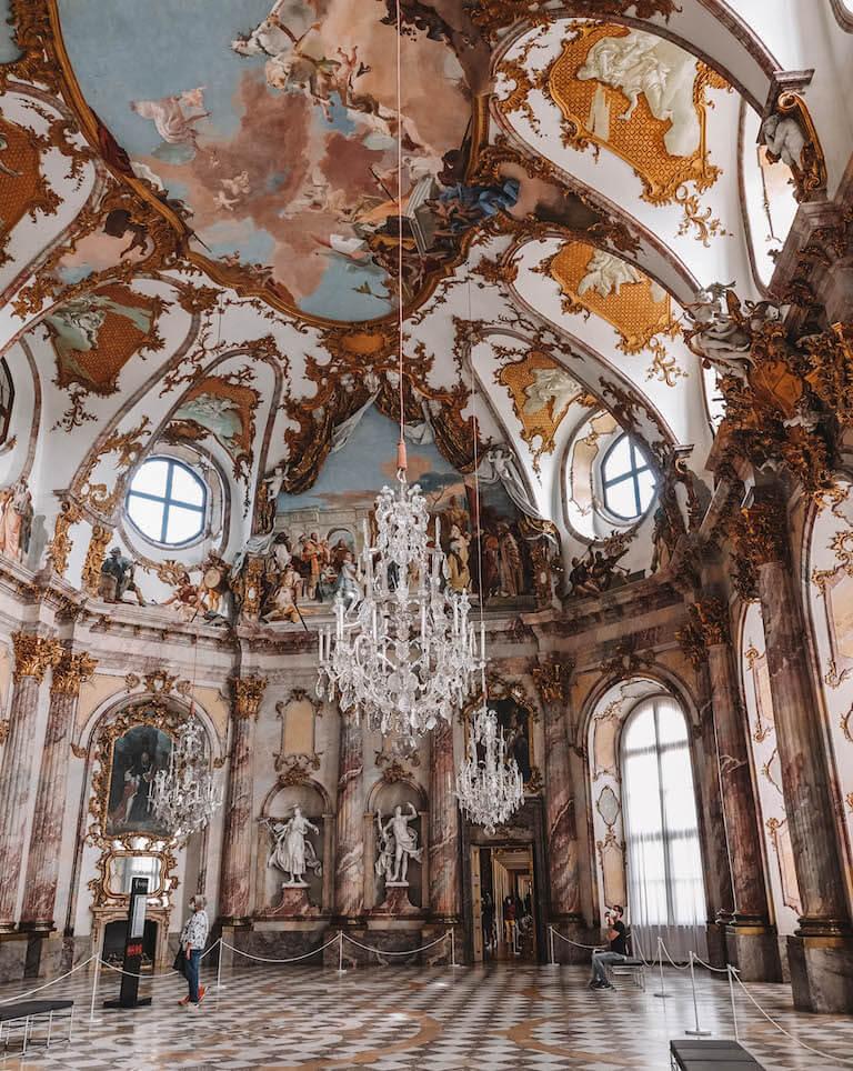 Deckenfresko Residenz Wuerzburg