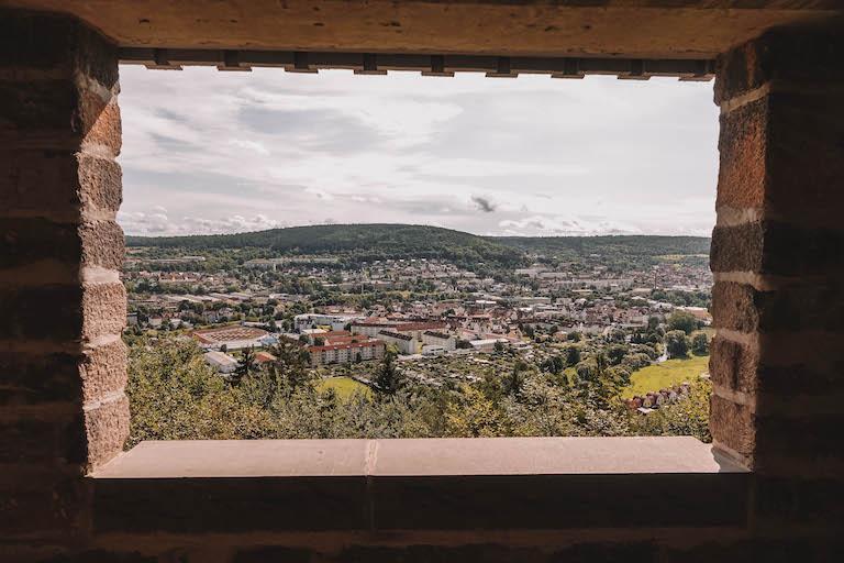 Der Meininger Aussicht Schaubachhuette