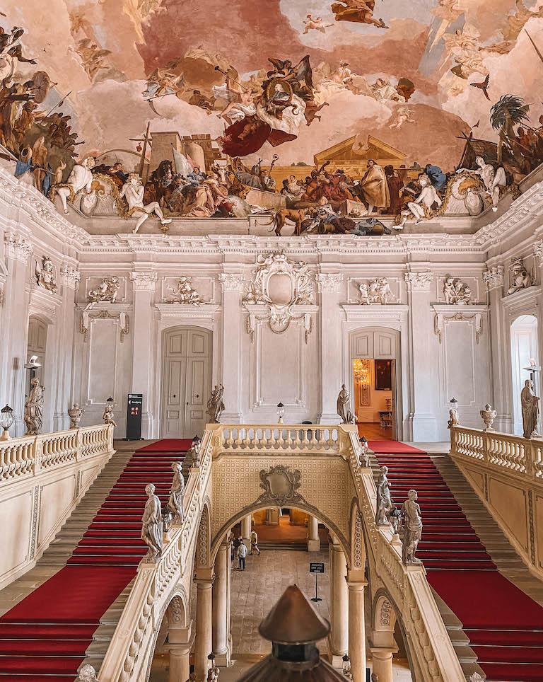 Eingang Residenz Wuerzburg