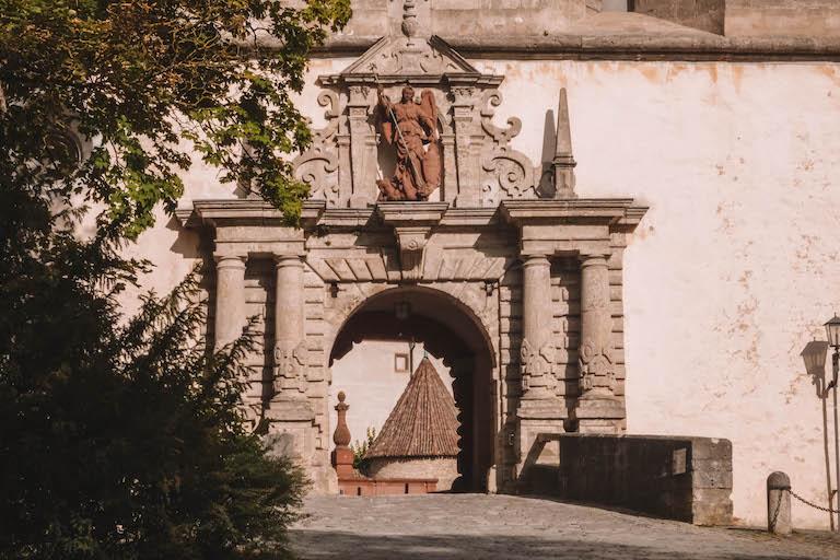 Festung Marienberg Eingang