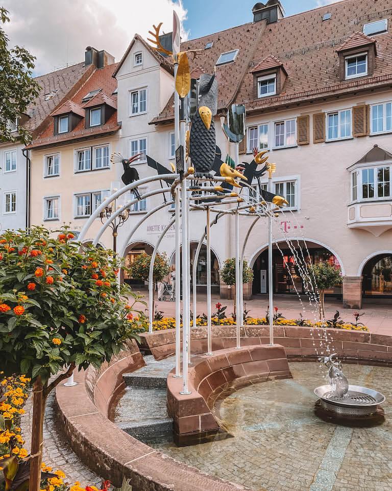 Freudenstadt Schwarzwaldbrunnen