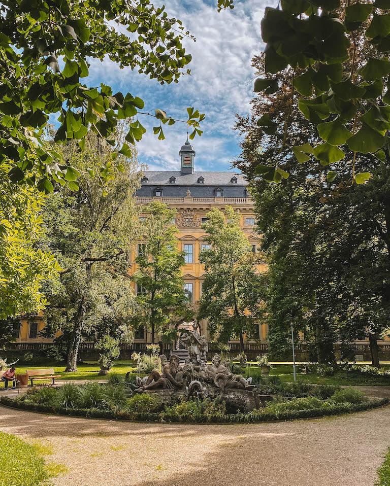Garten Juliusspital Wuerzburg