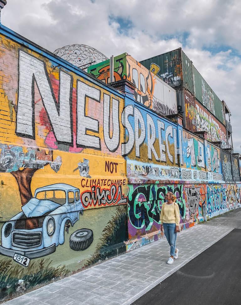 Graffiti Schlachthofviertel Muenchen