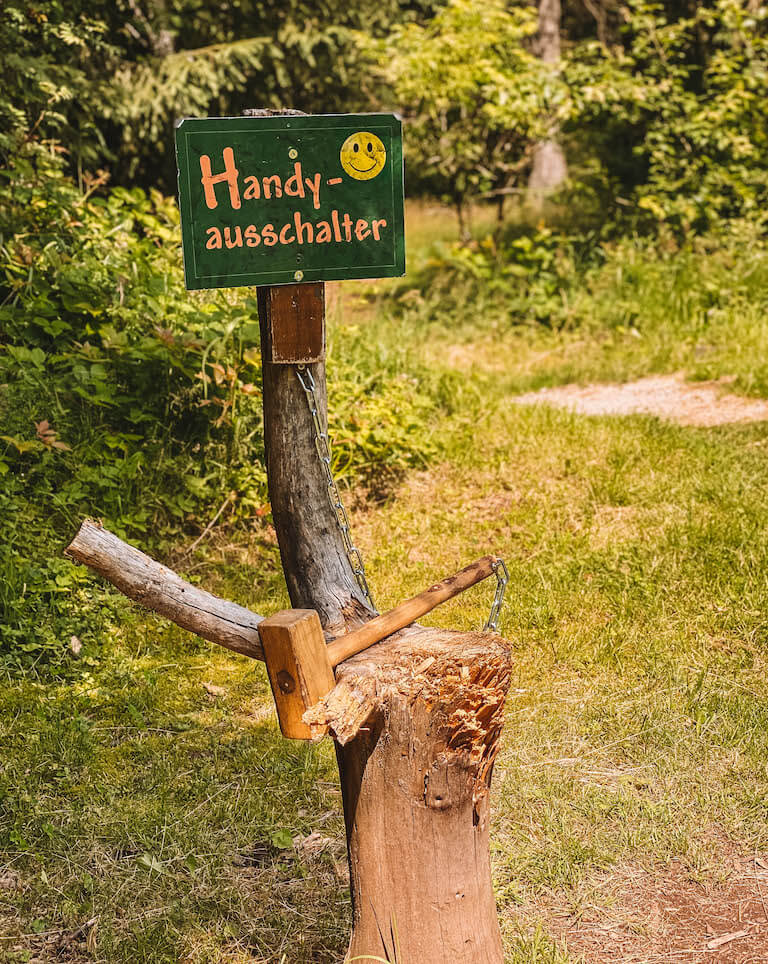 Heimatpfad Freudenstadt Handyausschalter