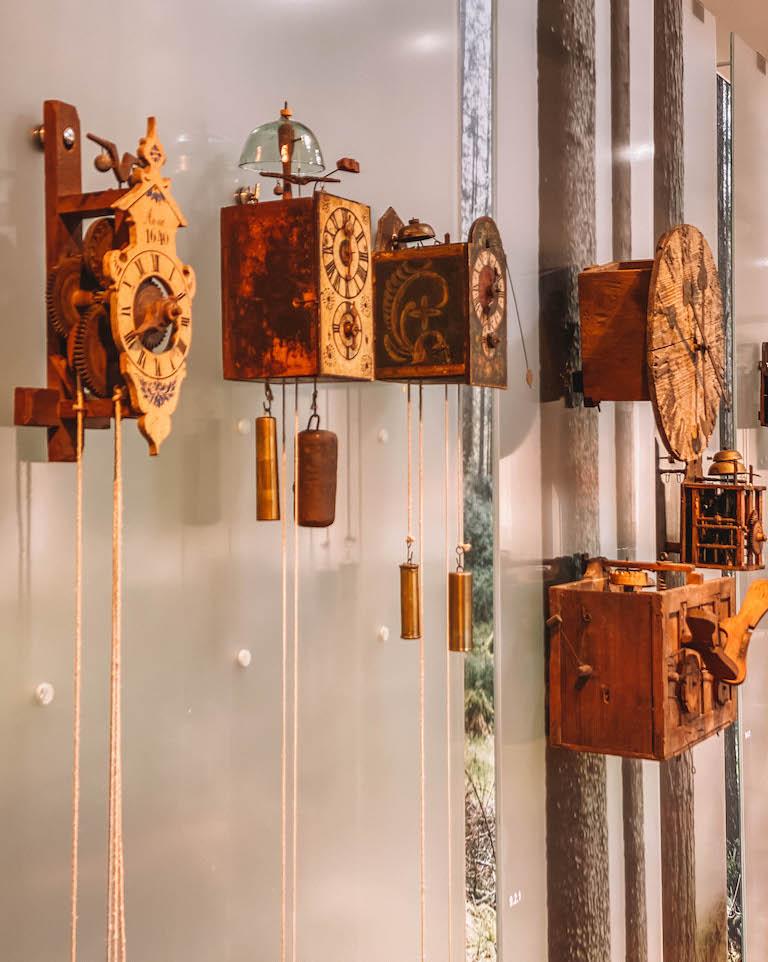 Junghans Terrassenmuseum Uhren