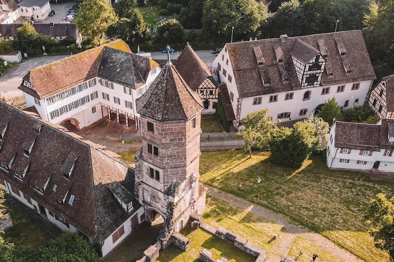 Klosterruine Hirsau Drohne