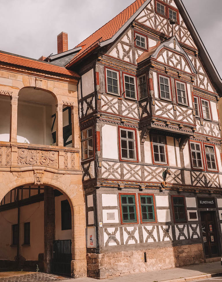Meiningen Fachwerkhaus