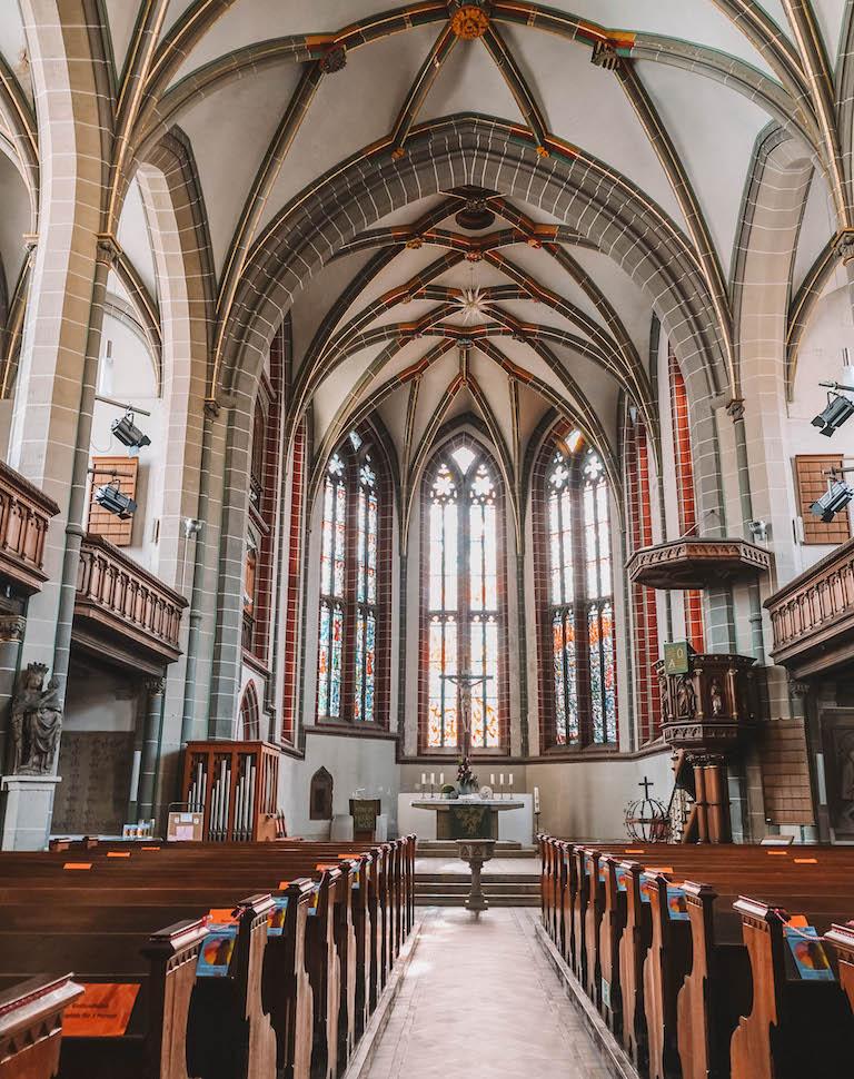 Meiningen Kirche innen