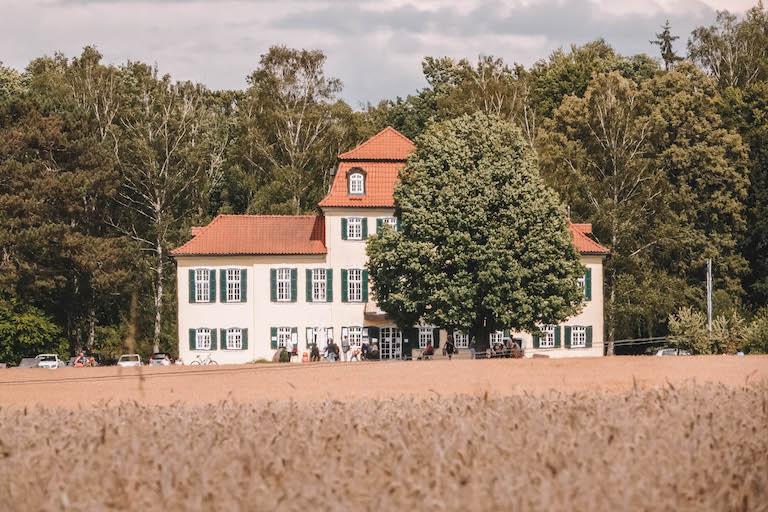Meiningen Sehenswuerdigkeiten Jagdschloss Fasanerie