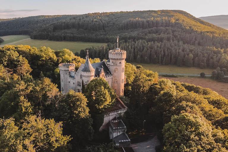 Meiningen Sehenswuerdigkeiten Schloss Landsberg