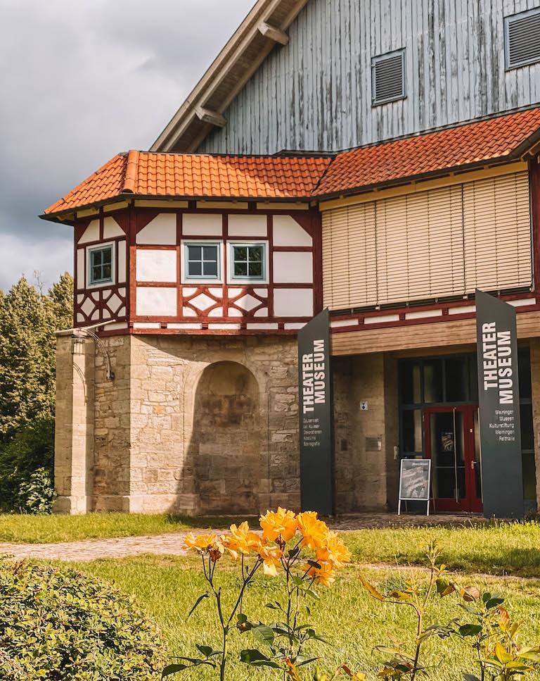Meiningen Sehenswuerdigkeiten Theatermuseum