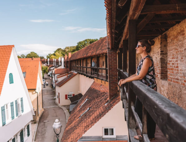 Noerdlingen-Stadtmauer-Historisch