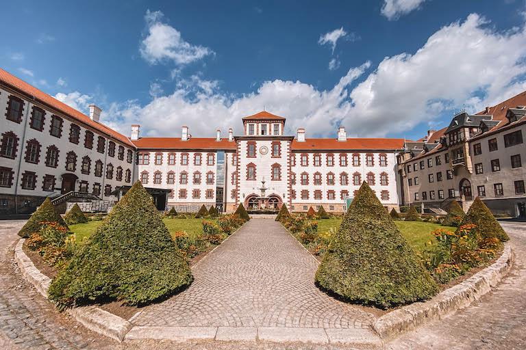 Schloss Elisabethenburg Thueringen Reiseblog