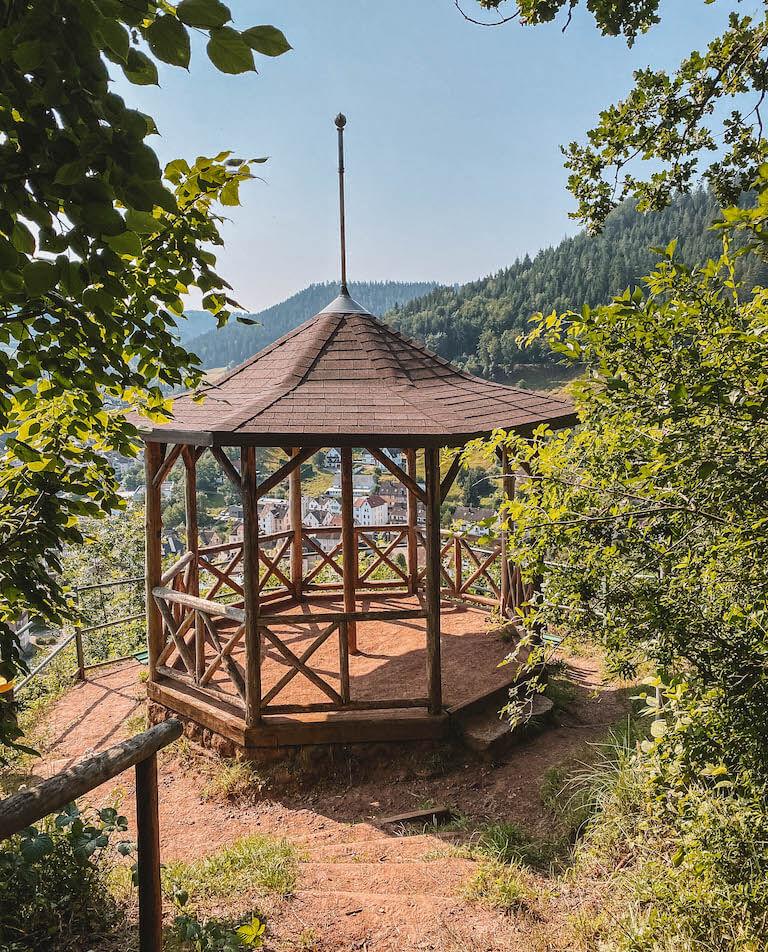 Schramberger Burgenpfad Aussicht
