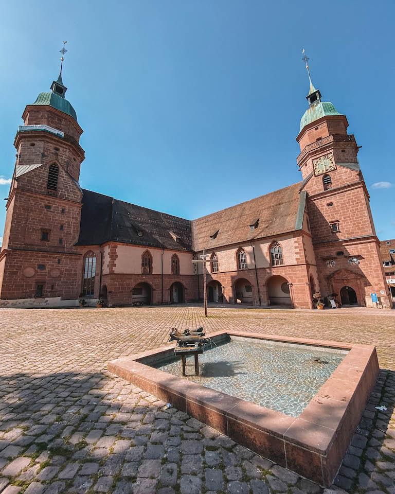 Schwarzwald Sehenswuerdigkeiten Freudenstadt Kirche