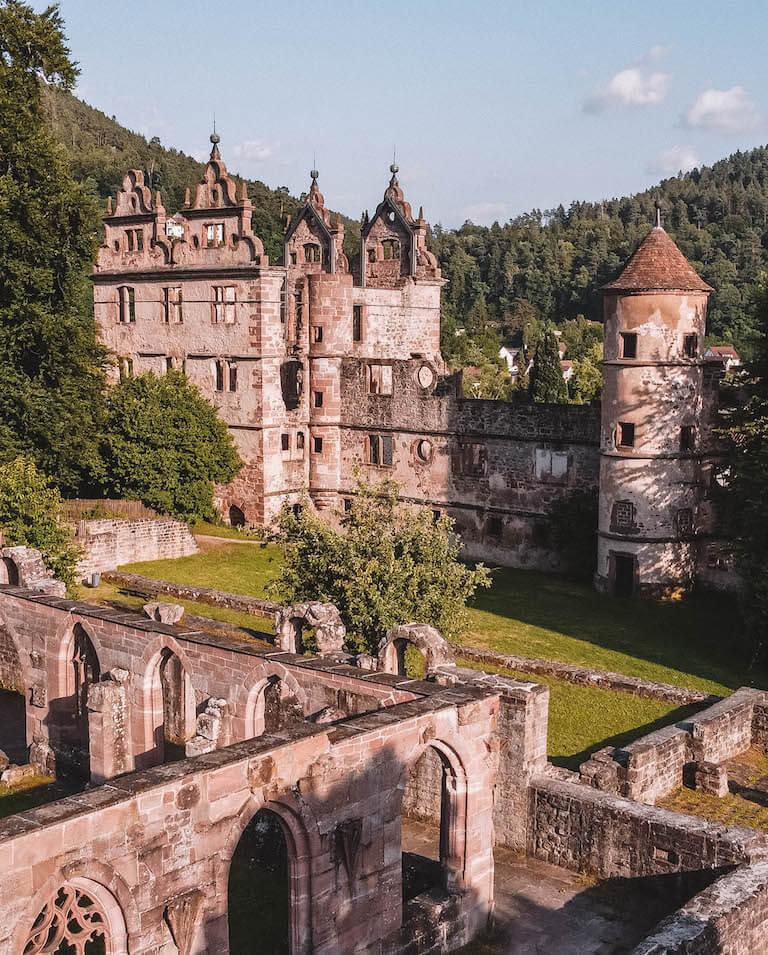 Schwarzwald Sehenswuerdigkeiten Kloster Hirsau