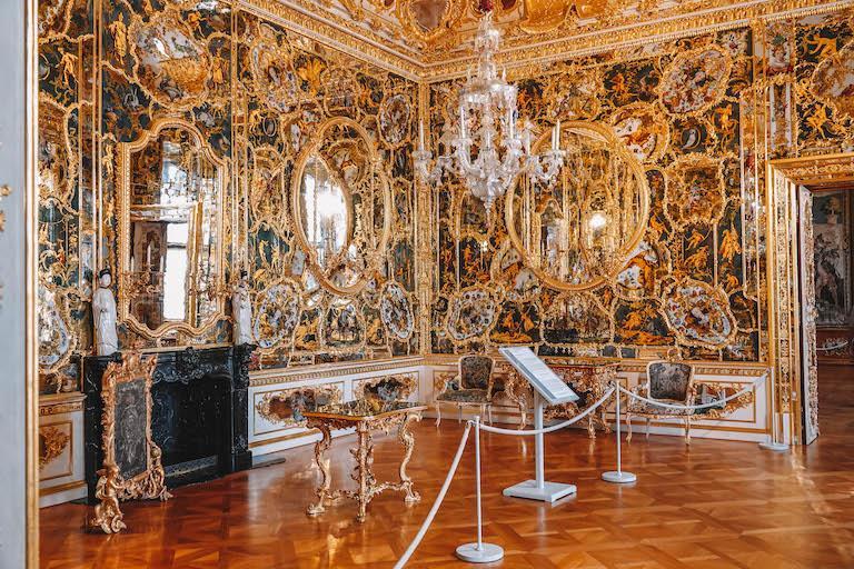 Spiegelkabinett Residenz Wuerzburg