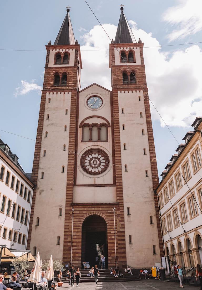 Wuerzburg Sehenswuerdigkeiten Dom