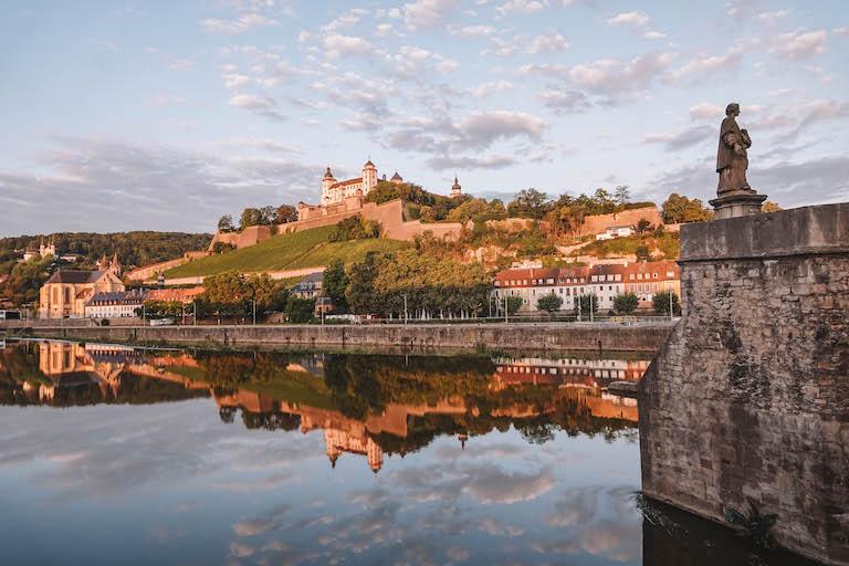 Wuerzburg Sehenswuerdigkeiten Festung Marienberg