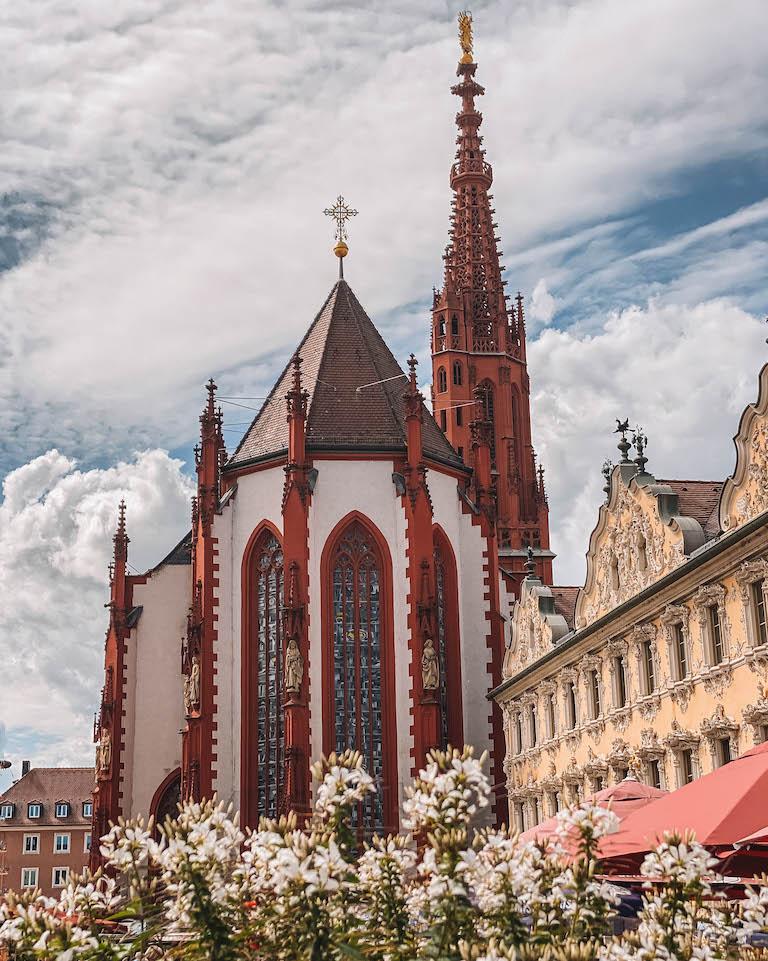 Wuerzburg Sehenswuerdigkeiten Marienkapelle