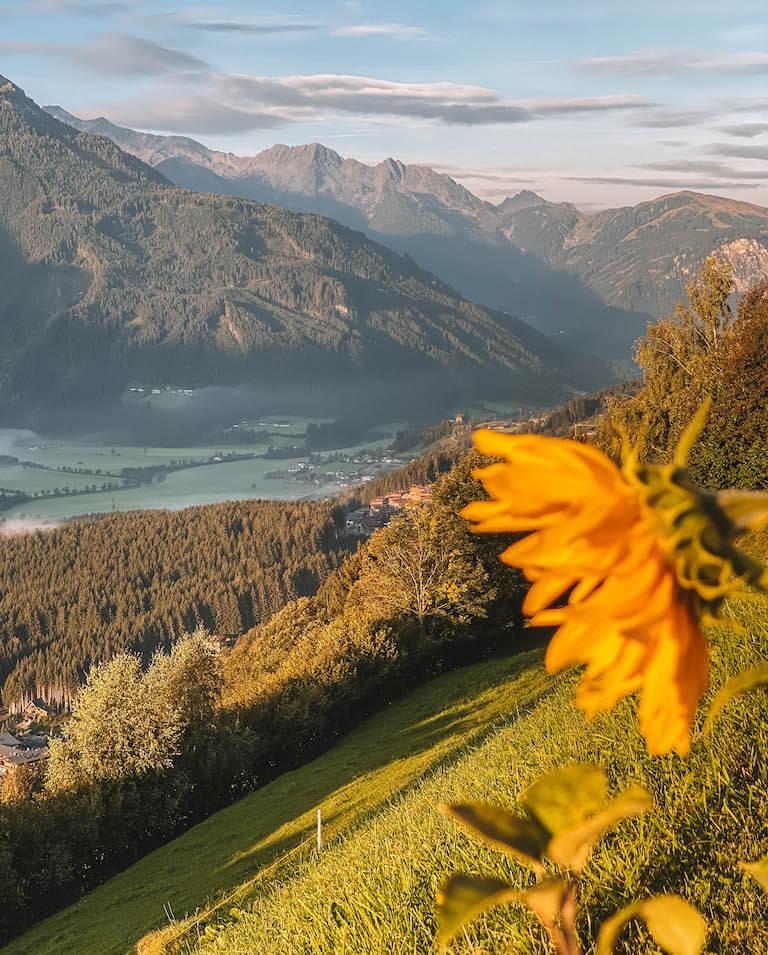 Alpengasthof Stockenbaum Aussicht