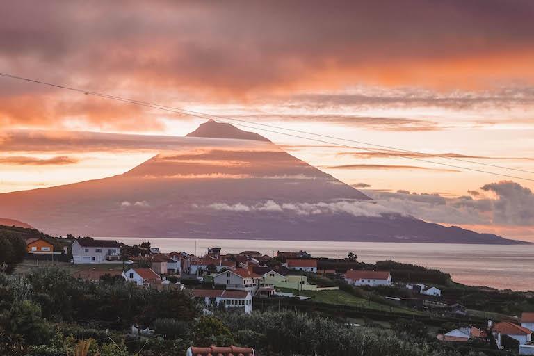 Faial Pico Vulkan