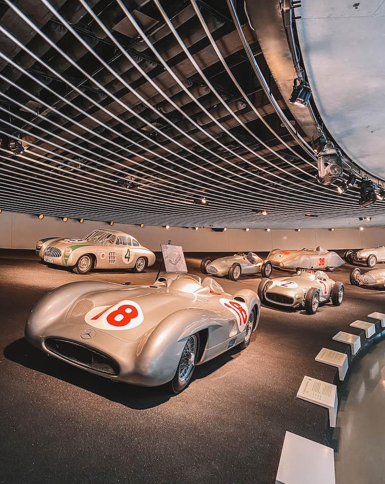 Mercedes Benz Museum Rennwagen