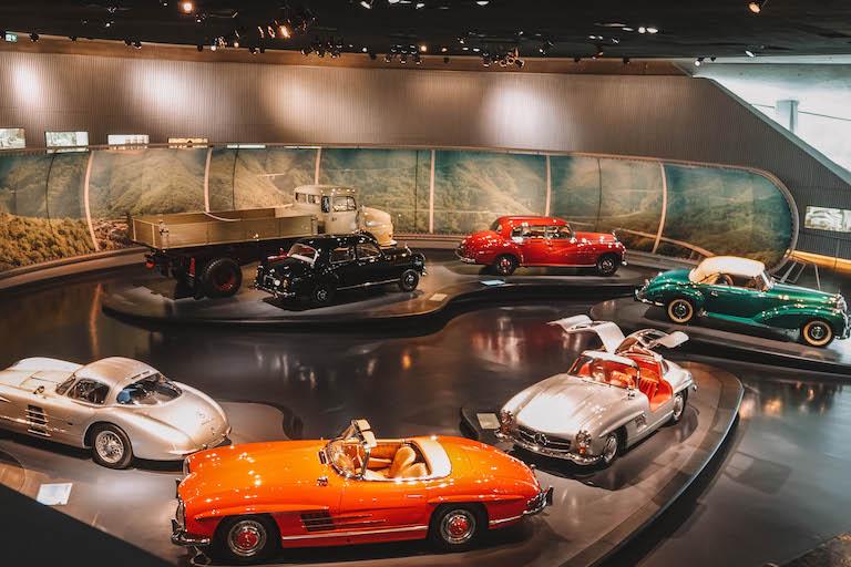 Merdeces Benz Museum Oldtimer