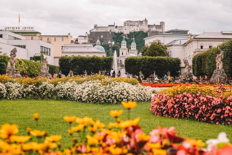 Mirabellgarten Salzburg Festung