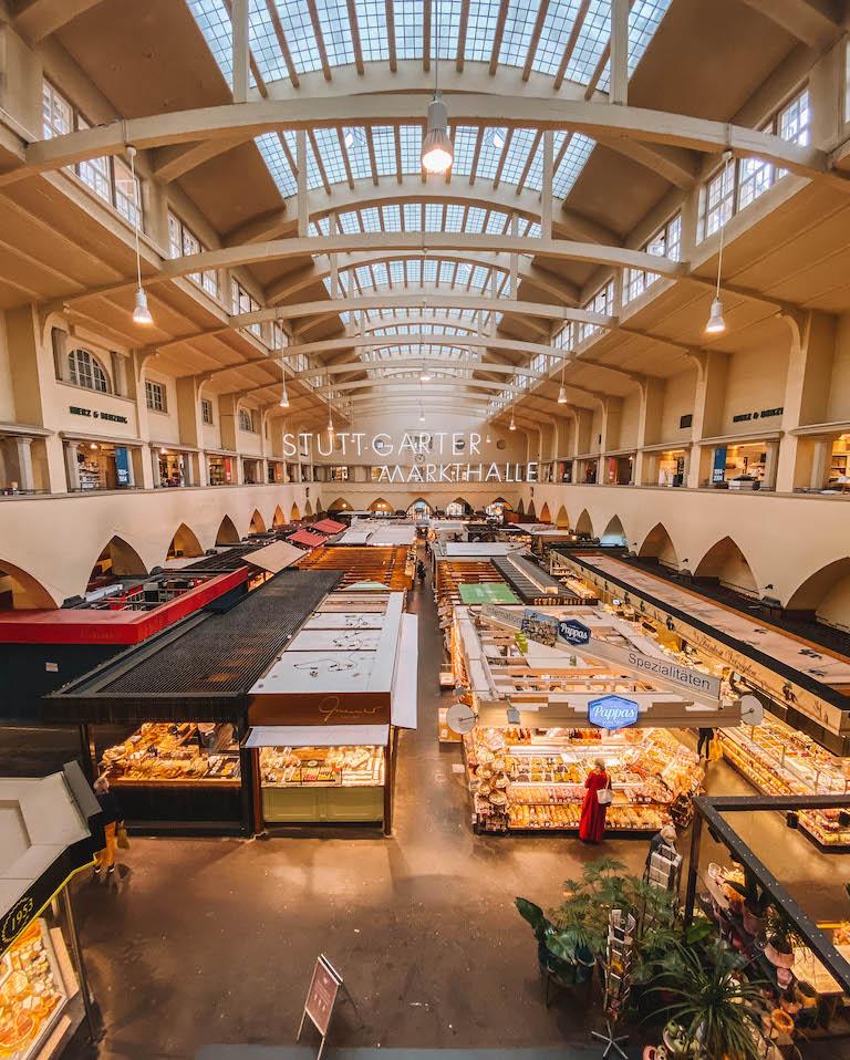Stuttgart Sehenswuerdigkeiten Markthalle