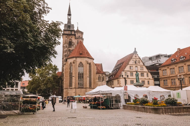 Stuttgart Wochenmarkt
