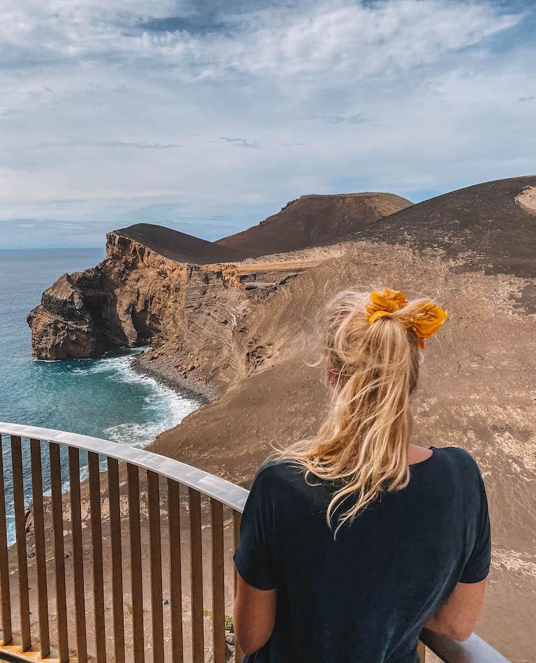 Vulkanlandschaft Faial Reiseblog