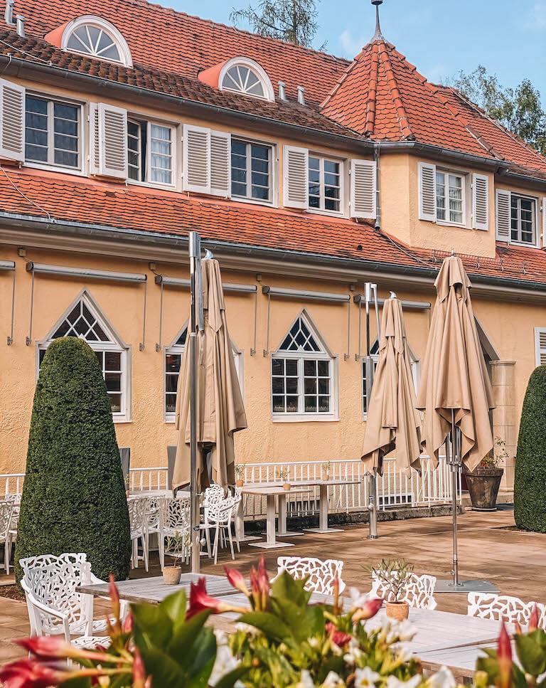 Waldhotel Stuttgart Terrasse