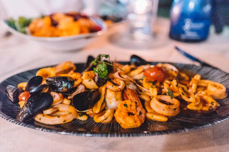 Apulien-Italien-Kueche-Pasta-Frutti-di-Mare